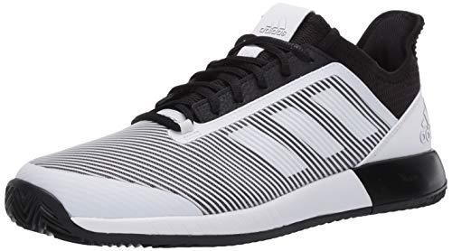 adidas Women's Defiant Bounce 2.0 Tennis Shoe, core Black/FTWR White/core Black, 11 M US