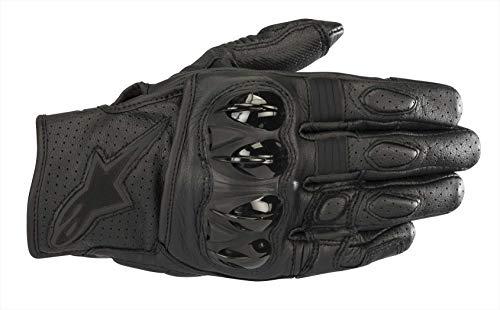 Alpinestars 35670181100-XL Motorrad Handschuhe, Schwarz/Schwarz, XL