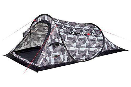 High Peak Campo Pop Up Tent Unisex-Adult, Camouflage, Taille Unique