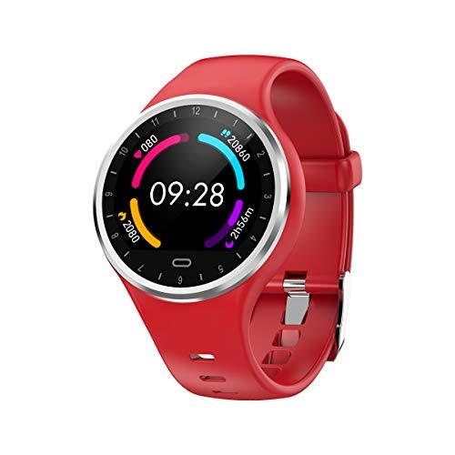 Smart Watch, Bluetooth Smartwatch voor jongens meisjes tiener kinderen, IP67 waterdicht, Call Reminder,SMS,Whatsapp Reminder,Hartslagmonitor, stappenteller, Fitness Tracker,Smartwatch voor IOS en Android, Rood