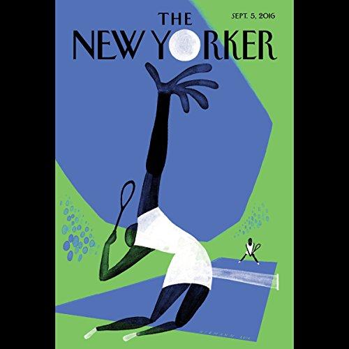 Couverture de The New Yorker, September 5th 2016 (Emma Allen, Janet Malcolm, James Surowiecki)