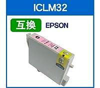 ◆ICチップ付◆エプソン EPSON ICLM32(ライトマゼンタ)対応 IC32系 互換インクカートリッジ