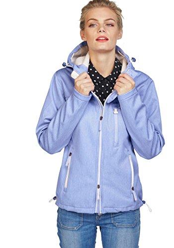 Superdry Damen Windtrekker Softshelljacke Softshell Jacke (Blau, XS)