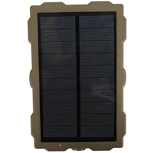 Kaxofang CáMara de Caza Al Aire Libre BateríA Panel Solar Cargador de EnergíA Panel Externo AlimentacióN para CáMaras FotográFicas Salvajes H801 H885 H9 H3 H501