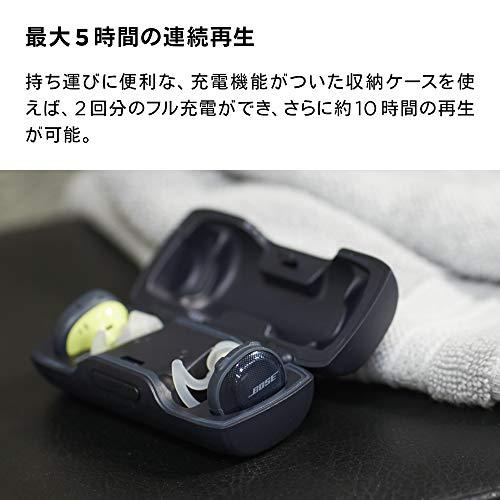 BoseSoundSportFreewirelessheadphones完全ワイヤレスイヤホンミッドナイトブルー/イエローシトロン
