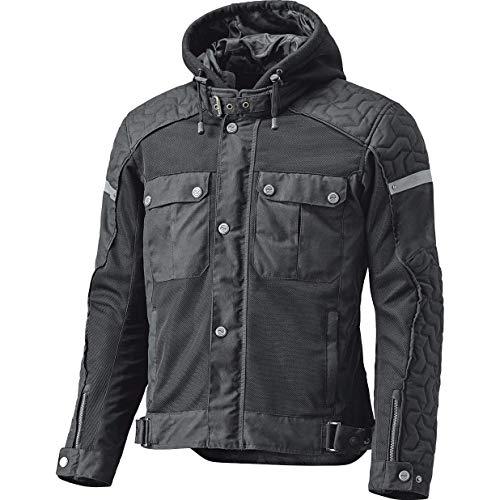 Held Motorradjacke mit Protektoren Motorrad Jacke Bodie Urban Jacke schwarz XL, Herren, Chopper/Cruiser, Sommer, Leder/Textil