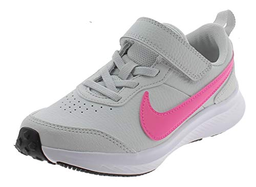 NIKE Varsity Leather Zapatos Deportivos para Nina Gris CN9393002