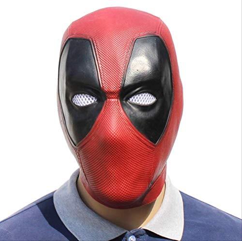 tytlmask film Deadpool Cosplay masker, Latex volledige hoofd helm voor dode partij kostuum maskers volwassen grappige rekwisieten