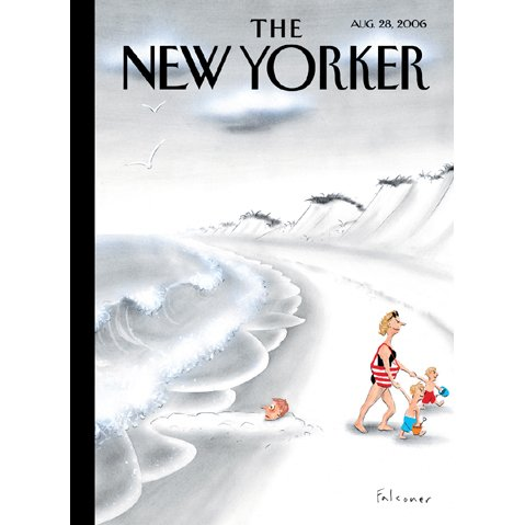 The New Yorker (Aug. 28, 2006) cover art