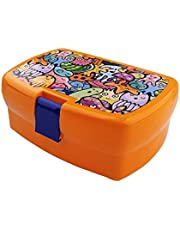All-in-One Stackable Lunch Box Containers for Kids, Adult, Food Meal Prep Containers,Stackable Lunch Box Storage 2 Square Containers,Dishwasher Safe,BPA-Free,