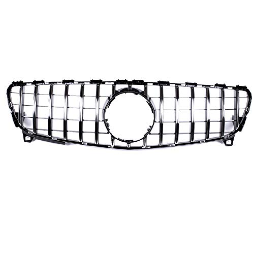 GT R Panamericana grille for facelift W176 A250 A200 A45 AMG 2016-2018 (Silver)