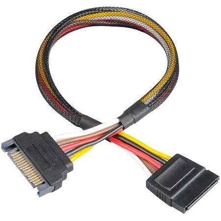 Akasa Ak Ak Cbpw04 30 Extension Kabel Stromversorgung Computer Zubehör