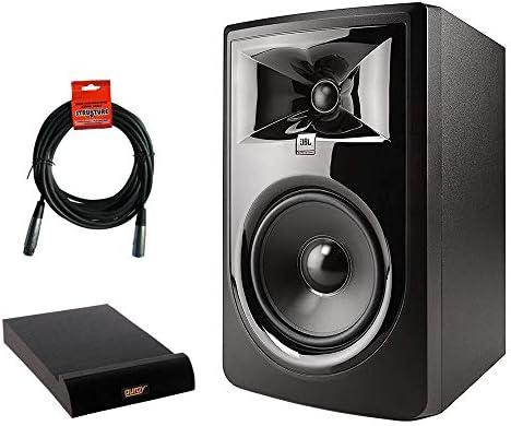 JBL 306P MkII Powered 6 5 Two Way Studio Monitor with IP M Isolation Pad Medium Single 20 XLR product image