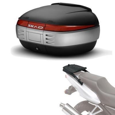 Sh50he17 - kit fijacion y maleta baul trasero sh50 compatible con honda...