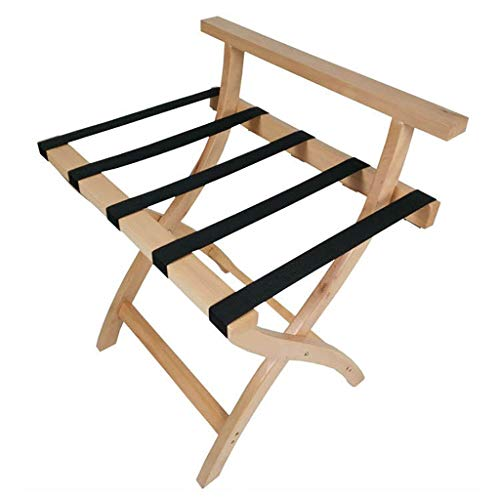 Review Of Luggage Rack, Solid Wood Folding Luggage Rack Luggage Stand for Suitcase for Home Bedroom ...