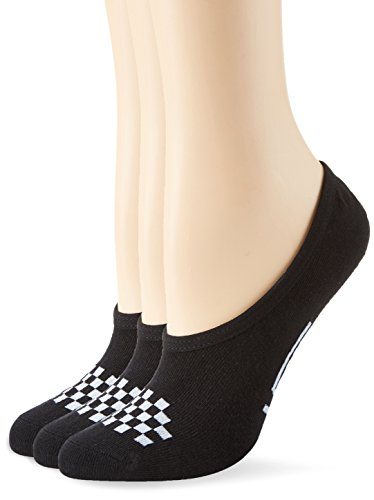 Vans Basic Canoodle 3 Pack, Calcetines para Mujer, Negro (Black/white), 37-41 (Talla fabricante 4.5-7.5)