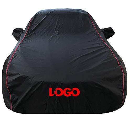 Funda para Coche Compatible con BMW X1/X2/X3/X4/X5/X6/X7 Todos los modelos Funda para Coche Exterior Plata 170T Impermeable Lona para Coche Cubierta Coche Exterior contra Sol Nieve Polvo Viento Tama