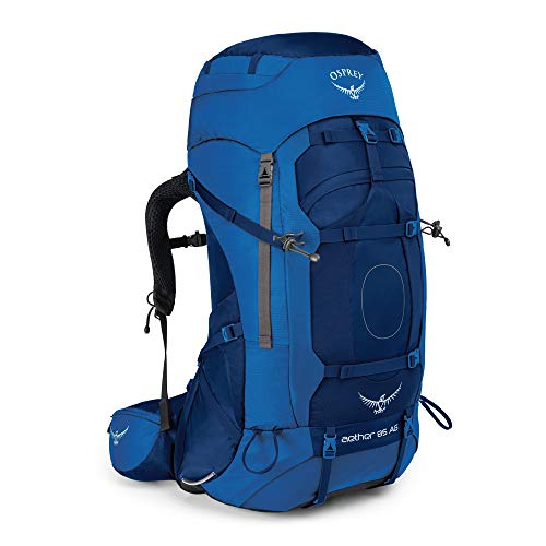 Osprey Europe Herren Aether AG 85 Backpacking Pack, Neptune Blue, MD