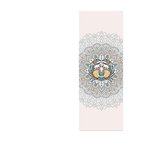POMNEFE 2021 Nueva Alfombra de Yoga con impresión de constelación Exquisita 6 mm Alfombra de Fitness Antideslizante para Principiantes Adecuada para Gimnasio Alfombra de Viaje en casa