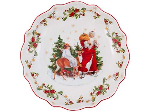 Villeroy & Boch Annual Christmas Edition Jahresschale klein 2020, Premium Porcelain, weiß, 23,5 cm / 0,33 l