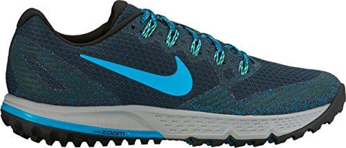 Nike Air Zoom Wildhorse 3 Trail Running Shoe, Armory Navy/Blue Lagoon (14)