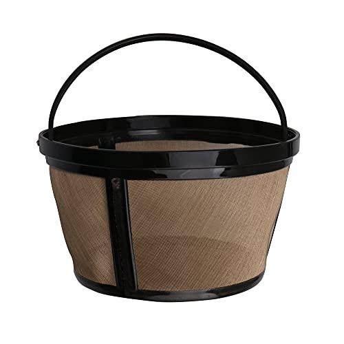 BQLZR Máquina de café de acero inoxidable filtra 8 a 12 taza cesta estilo para cafetera