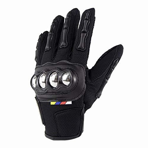 Guantes de Moto Dedo Completo Invierno cálido Unisex Hombre Mujer Anti-a1-XL