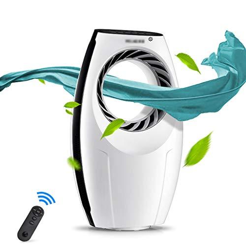 Ventilador sin aspas, ventilador de enfriamiento de la torre, ventilador del aire acondicionado, sincronización del control remoto Ahorro de energía Anillo sin hojas pequeño Silencio Único ventilador