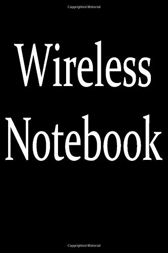 Wireless Notebook: Funny affordable office gag gift idea for a coworker, friend or boss. Ironic Office geek humor notebook.