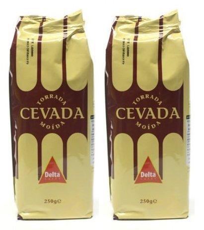Delta Geröstet Gemahlener Gerste Kaffee-Ersatz 2x250g