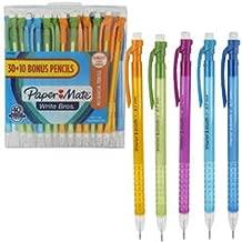 Paper Mate Write Bros. Mechanical 30 + 10 Pencils 0.7mm #2 Longest Leads 40 Pieces Set.