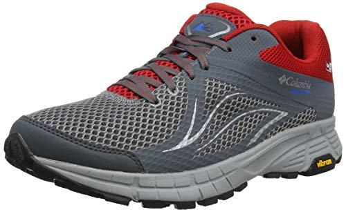 Columbia Mojave II Outdry, Zapatillas de Trail Running para Hombre, Gris (Ti Grey Steel, Hyper Blue), 42.5 EU