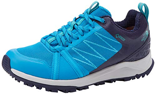 The North Face W LW FP II GTX, Zapatillas de Senderismo Mujer, Blue Acoustc Azul Peacoat Navy K6r, 38 EU