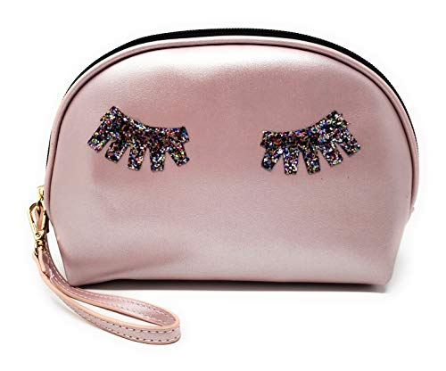 Makeup Bag Lipstick Cosmetic Carrying Case Clutch...