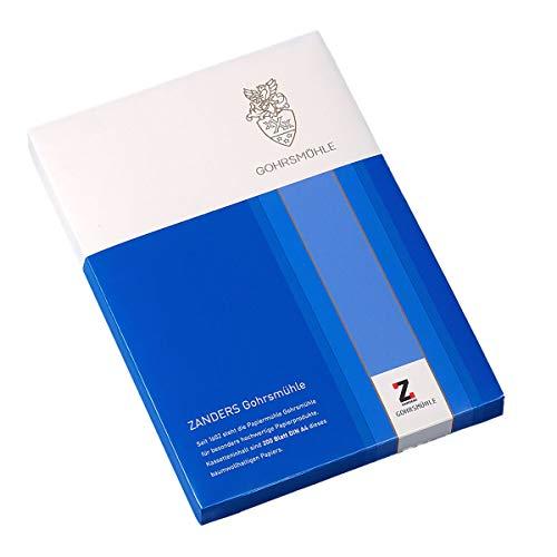 Premium-Briefpapier mit Wasserzeichen Gohrsmühle 100 g, DIN-A4, 200 Blatt, Glatt, matt, weiß – für besondere Ansprüche