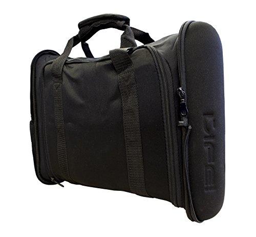 Life! 14', 15', 15.6', 16' Black Laptop Case/Notebook Bag w/comfortable carry handles, Water Repelent Neoprene