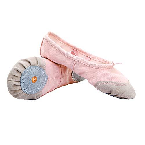Oukeep Tanzschuhe Mit Weichen Sohlen Für Männer Und Frauen, Übungsschuhe Für Katzenklauen-Körpertänze, Einfarbige Ballettschuhe, Turnschuhe