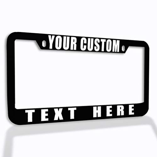 Speedy Pros Funny License Plate Frame Custom...