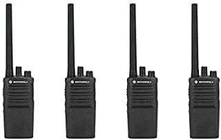 4 Pack of Motorola RMV2080 Business Two-Way Radio 2 Watts/8 Channels Military Spec