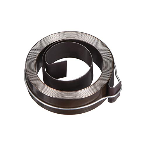Affordable uxcell Drill Press Return Spring, Quill Spring Feed Return Coil Spring Assembly, 2.2Ft Lo...