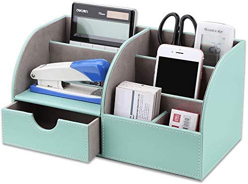 GORESE Multifunktionale Schreibtisch Organizer Aufbewahrung (Mint Green)