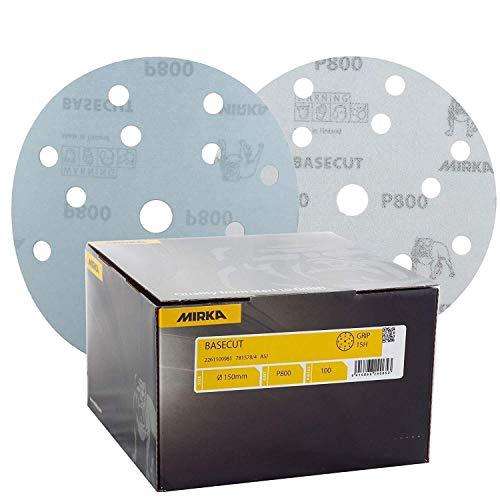 Mirka 2261105060 Basecut Grip 15L P60, 150 mm, 50 Pro Pack
