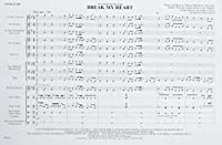 Break My Heart: As Recorded by Dua Lipa, Conductor Score (Easy Pops for Marching Band)