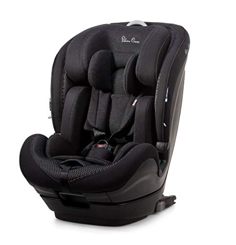 Silver Cross Balance i-Size Car Seat, Multi Stage Child Seat for Baby/Toddler/Child from 15 months to 12 Years (76-150cm), Multi-Position Reclining ISOFIX Car Seat
