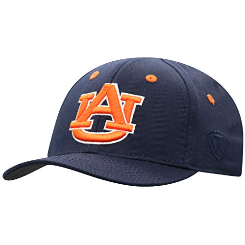 Top of the World Auburn Tigers Infant One Fit Infant Toddler Team Color Primary Icon Hat, One Fit