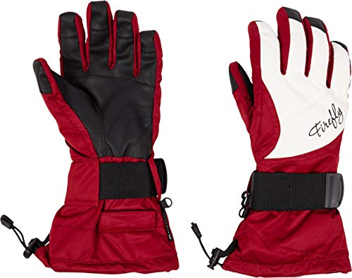 Firefly Damen Azura II Handschuhe, Brown Dark/White, 7,5