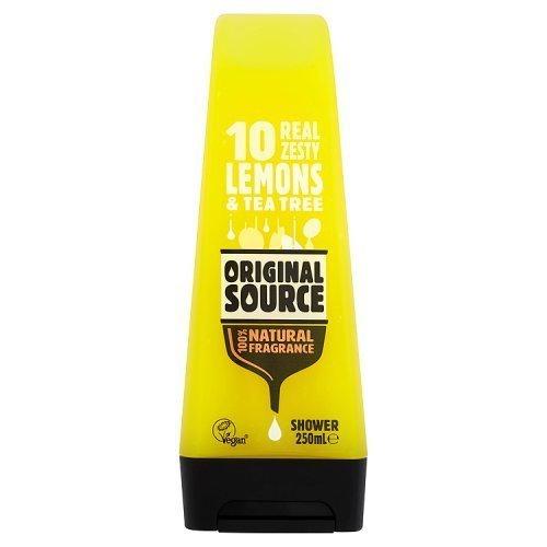 6 x Original Source Lemon & Tea Tree Shower 250ml