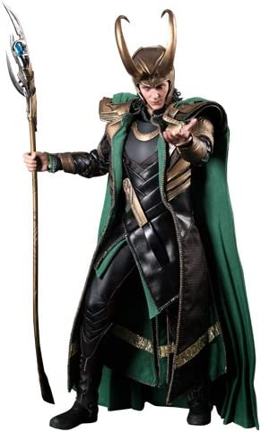 Hot Toys – The Avengers Movie Masterpiece Action Figure 1/6 Loki 32 cm