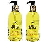 Abbott & Broome Luxuriöse Handwäsche, Orange & Bergamotte, 2 x 300 ml Flaschen