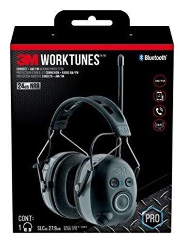3M WorkTunes Funk-Gehörschutz mit Bluetooth-Technologie, Display, 6ea 90542-3DC, 90542-QP-6